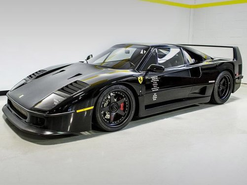 Ferrari F40 by Gas Monkey Garage venduta all'asta - Foto 5 di 6