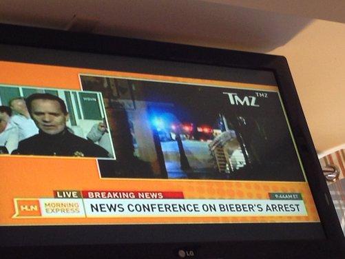 Justin Bieber arrestato per eccesso di velocità a bordo di una Lamborghini - Foto 8 di 10