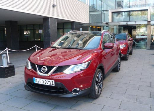 Nuova Nissan Qashqai provata su strada a Madrid - Foto 1 di 17