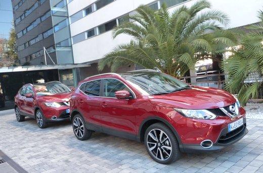 Nuova Nissan Qashqai provata su strada a Madrid - Foto 2 di 17