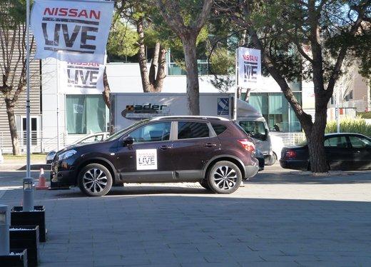 Nuova Nissan Qashqai provata su strada a Madrid - Foto 9 di 17