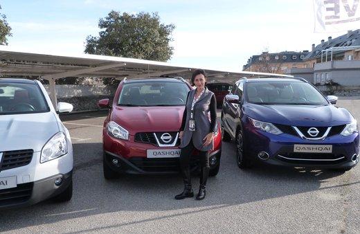 Nuova Nissan Qashqai provata su strada a Madrid - Foto 8 di 17
