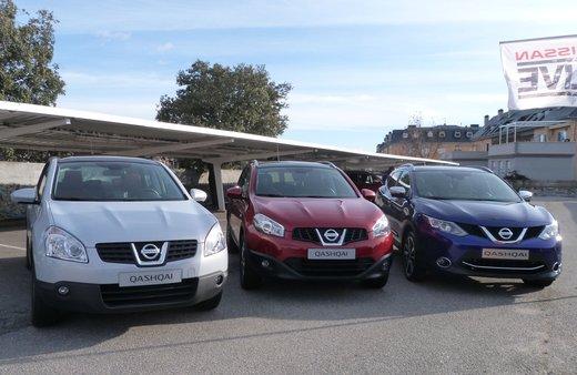 Nuova Nissan Qashqai provata su strada a Madrid - Foto 11 di 17