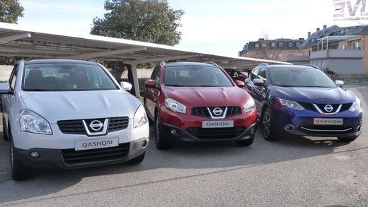 Nuova Nissan Qashqai provata su strada a Madrid - Foto 16 di 17