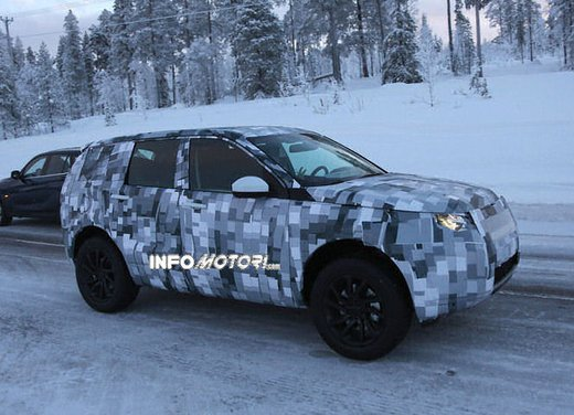 Land Rover Freelander nuove foto spia