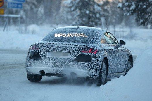 Audi TT nuove foto spia sulla neve - Foto 2 di 7
