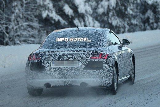 Audi TT nuove foto spia sulla neve - Foto 5 di 7