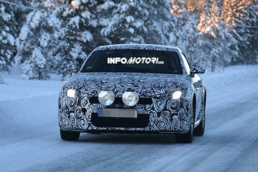 Audi TT nuove foto spia sulla neve - Foto 7 di 7
