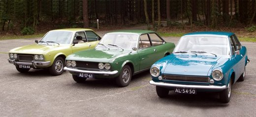 Fiat 124, la storia della berlina torinese