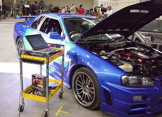 La Nissan GT-R guidata da Paul Walker in Fast & Furious in vendita per 1 milione di euro - Foto 9 di 30