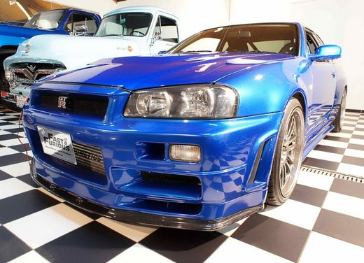 La Nissan GT-R guidata da Paul Walker in Fast & Furious in vendita per 1 milione di euro - Foto 11 di 30