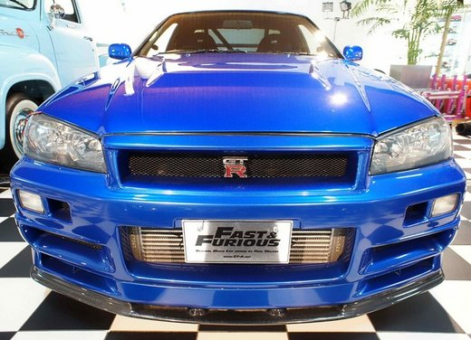 La Nissan GT-R guidata da Paul Walker in Fast & Furious in vendita per 1 milione di euro - Foto 13 di 30
