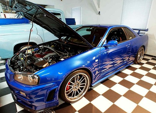 La Nissan GT-R guidata da Paul Walker in Fast & Furious in vendita per 1 milione di euro - Foto 18 di 30