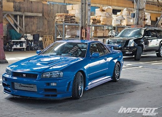 La Nissan GT-R guidata da Paul Walker in Fast & Furious in vendita per 1 milione di euro - Foto 19 di 30