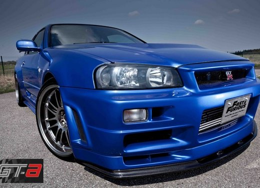 La Nissan GT-R guidata da Paul Walker in Fast & Furious in vendita per 1 milione di euro - Foto 29 di 30