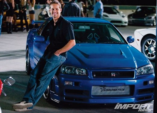 La Nissan GT-R guidata da Paul Walker in Fast & Furious in vendita per 1 milione di euro