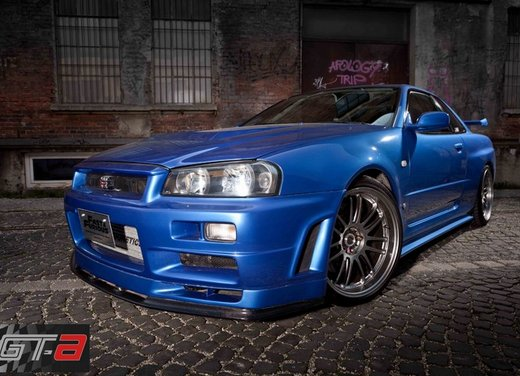 La Nissan GT-R guidata da Paul Walker in Fast & Furious in vendita per 1 milione di euro - Foto 3 di 30