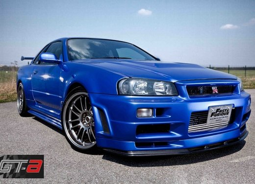 La Nissan GT-R guidata da Paul Walker in Fast & Furious in vendita per 1 milione di euro - Foto 4 di 30
