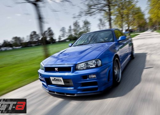 La Nissan GT-R guidata da Paul Walker in Fast & Furious in vendita per 1 milione di euro - Foto 5 di 30