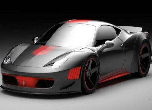 Ferrari F458 Curseive by Gray Design e VAD - Foto 3 di 5