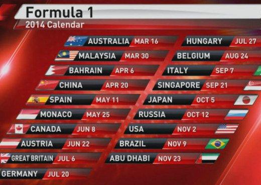F1 2014 in Tv: date e canali per seguire la stagione di Formula 1
