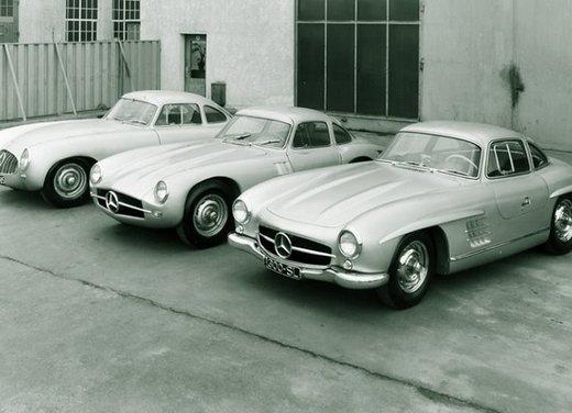 Mercedes 300 SL, così è nato il mito delle ali di gabbiano - Foto 3 di 13