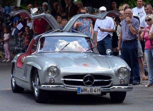 Mercedes 300 SL, così è nato il mito delle ali di gabbiano - Foto 10 di 13