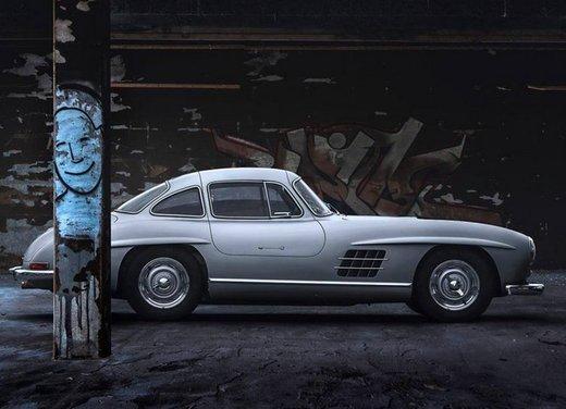 Mercedes 300 SL, così è nato il mito delle ali di gabbiano - Foto 11 di 13