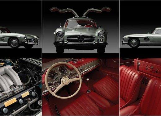 Mercedes 300 SL, così è nato il mito delle ali di gabbiano - Foto 12 di 13
