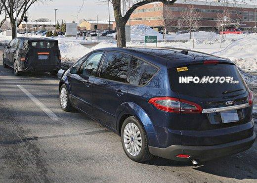 Ford S-Max foto spia della nuova generazione - Foto 8 di 14