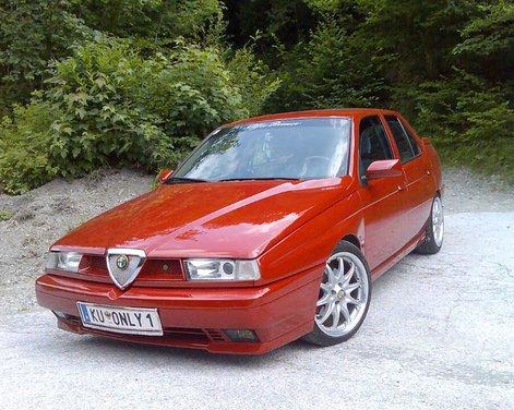 Alfa Romeo 155, la storia della berlina del Biscione a trazione anteriore