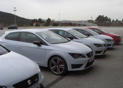 Nuova Seat Leon Cupra test drive - Foto 3 di 14