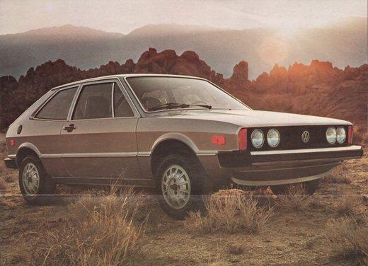 Volkswagen Scirocco, il primo modello del 1974