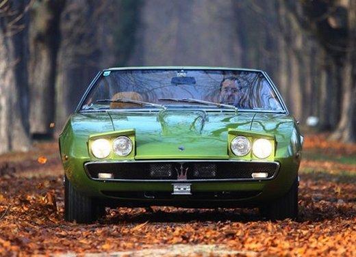 Maserati Ghibli, la storica sportiva del 1967 disegnata da Giugiaro - Foto 6 di 15