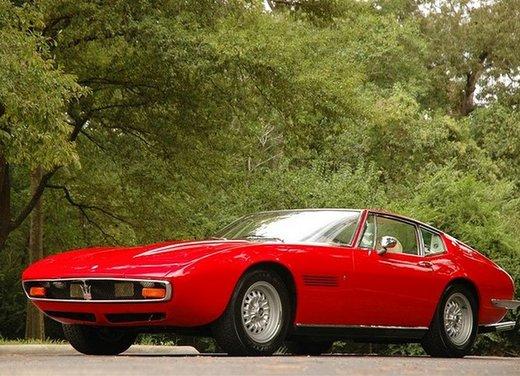 Maserati Ghibli, la storica sportiva del 1967 disegnata da Giugiaro - Foto 11 di 15