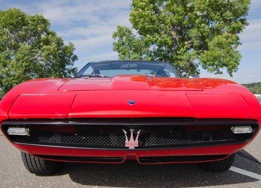 Maserati Ghibli, la storica sportiva del 1967 disegnata da Giugiaro - Foto 5 di 15