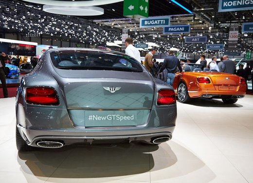 Bentley Continental GT Speed coupé - Foto 1 di 4