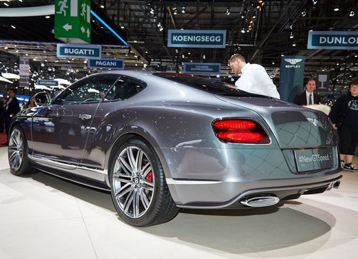 Bentley Continental GT Speed coupé - Foto 4 di 4