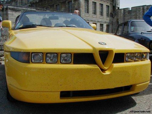 Alfa Romeo RZ, una della Alfa più rare - Foto 7 di 13
