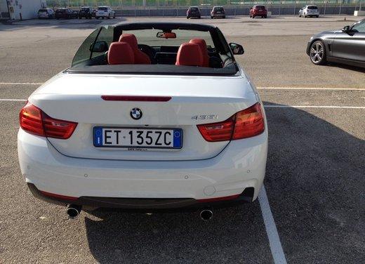 Bmw Serie 4 Cabrio test drive - Foto 8 di 11
