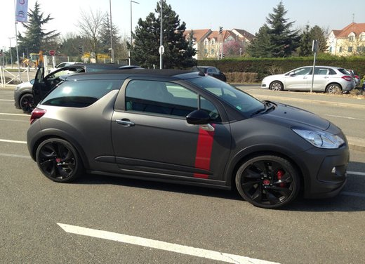 Citroen DS3 Cabrio Racing test drive