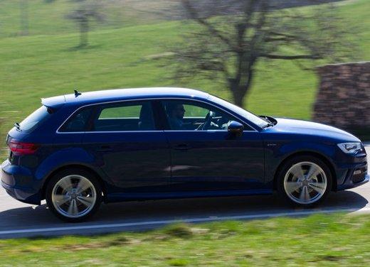 Audi A3 Sportback g-tron a metano provata su strada - Foto 3 di 23