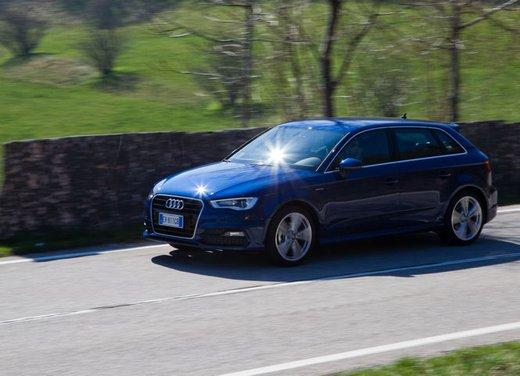 Audi A3 Sportback g-tron a metano provata su strada - Foto 4 di 23