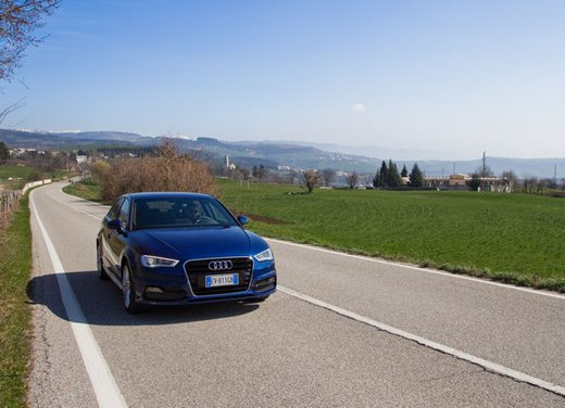 Audi A3 Sportback g-tron a metano provata su strada - Foto 5 di 23