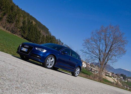 Audi A3 Sportback g-tron a metano provata su strada - Foto 6 di 23