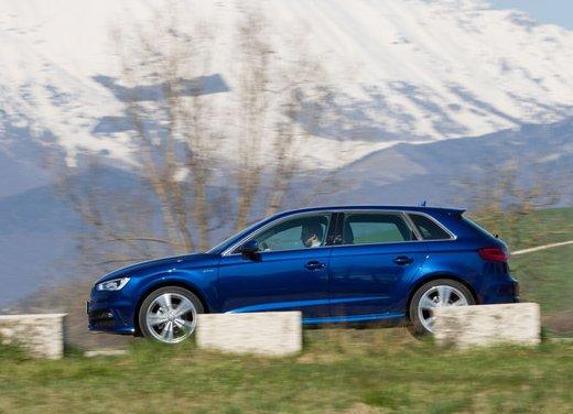 Audi A3 Sportback g-tron a metano provata su strada - Foto 7 di 23