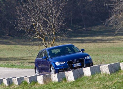 Audi A3 Sportback g-tron a metano provata su strada - Foto 8 di 23