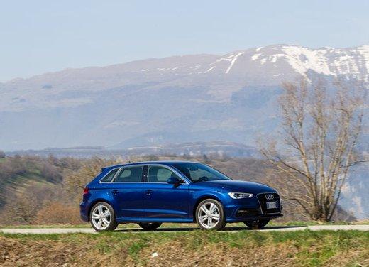 Audi A3 Sportback g-tron a metano provata su strada - Foto 9 di 23
