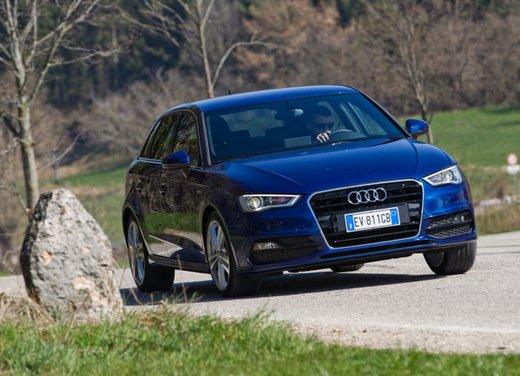 Audi A3 Sportback g-tron a metano provata su strada - Foto 10 di 23