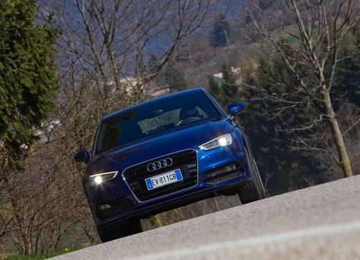 Audi A3 Sportback g-tron a metano provata su strada - Foto 11 di 23